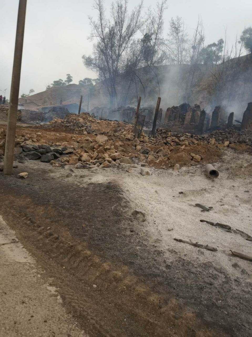 山西右玉两村民燃烧秸秆致四死 包括邻居两夫妻