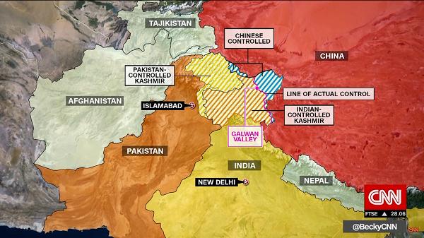 美媒看中印冲突:中国军费是印4倍 接下来会发生什么
