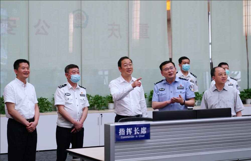 市公安局指挥中心 本文图均为重庆市公安局 图