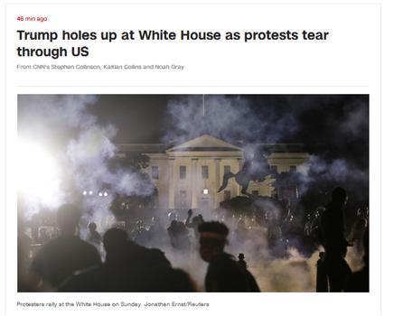 美国暴乱:特朗普第二次进入白宫掩
