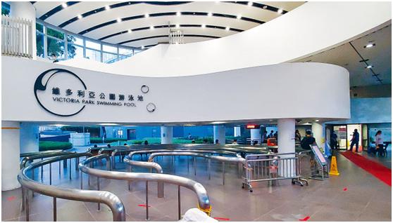 维多利亚公司游泳池资料图(图片来源:香港《星岛日报》)