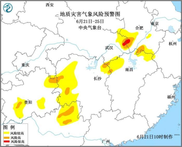 贵州至长江中下游一带将迎入汛以来最强降雨过程插图(1)