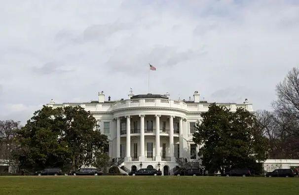 """白宫。图源:美国""""政客""""讯息网站"""