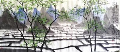桂林印象(中国画)