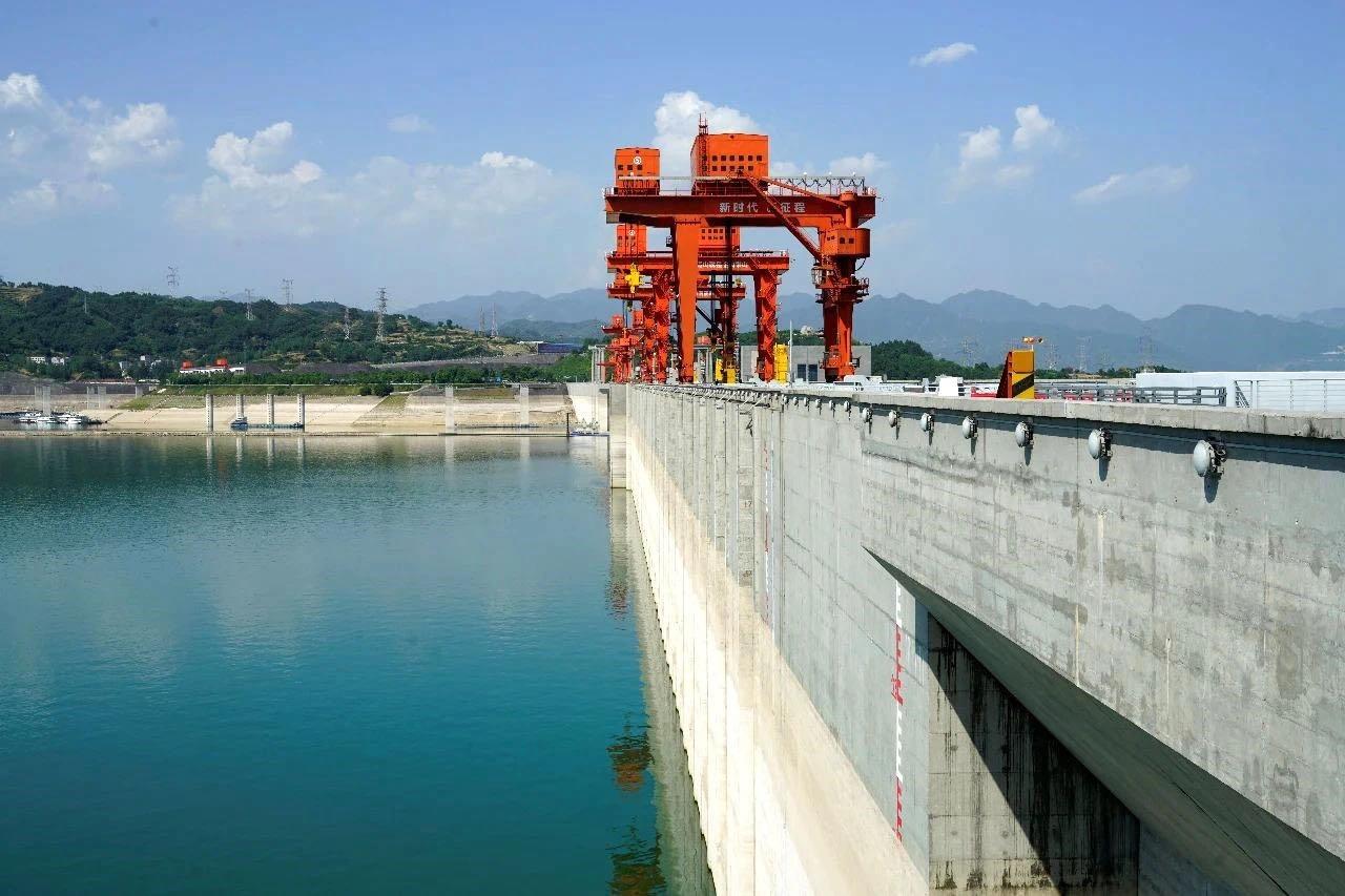三峡水库水位下降迎战汛期