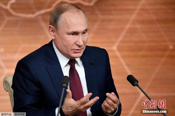 原料图:俄罗斯总统普京。
