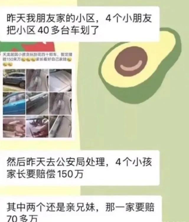 """新京报评""""4小孩划数十台车"""":用法律倒逼教养归位"""