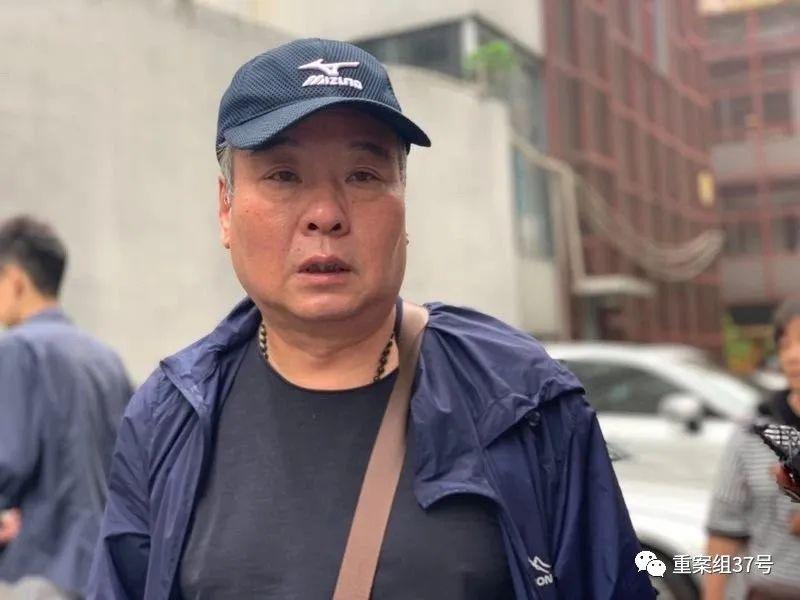 杨敢连接受采访。新京报记者贾洁卿 摄