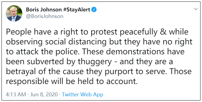 图片截取自约翰逊个人推特