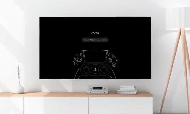 艺术家打造PS5概念UI:棱角分明、干净凌厉
