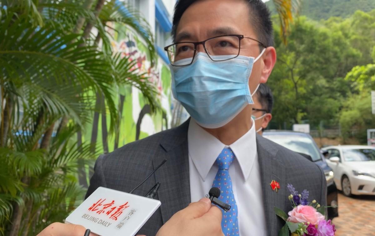 香港教育局局長楊潤雄:全力支援學校推廣國安法及國歌教育圖片