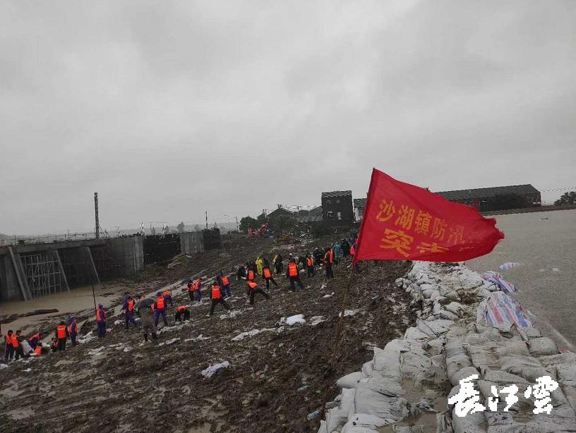 仙桃市防汛排涝救灾现象厉肃。