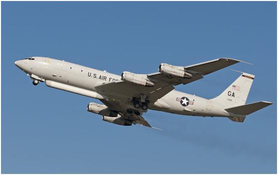 美国空军E-8C空地监视飞机
