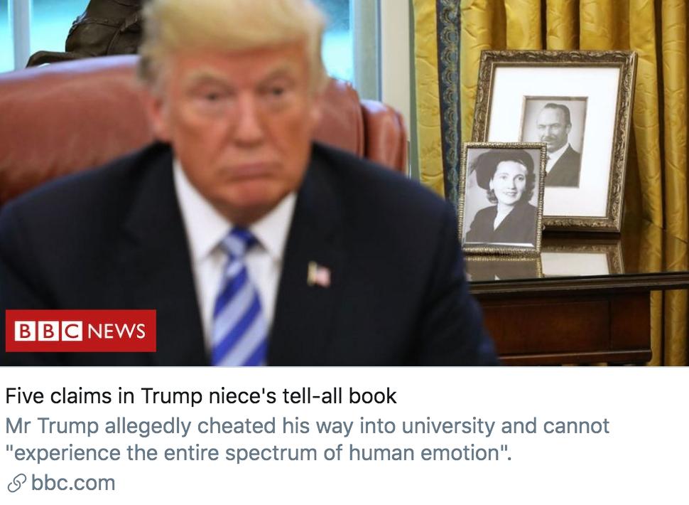 """玛丽新书中5个""""令人震惊""""的片段。/ BBC报道截图"""