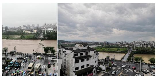 黄山市明代古桥被洪水冲毁 原计划今年汛期后修理修整