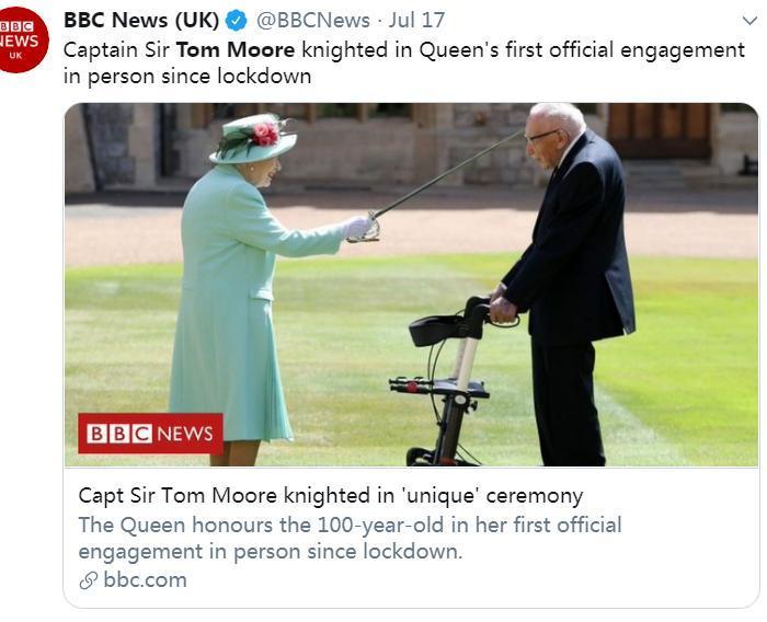 图片来源:英国广播公司(BBC)社交网站官方账号截图。</p> <p cms-style=