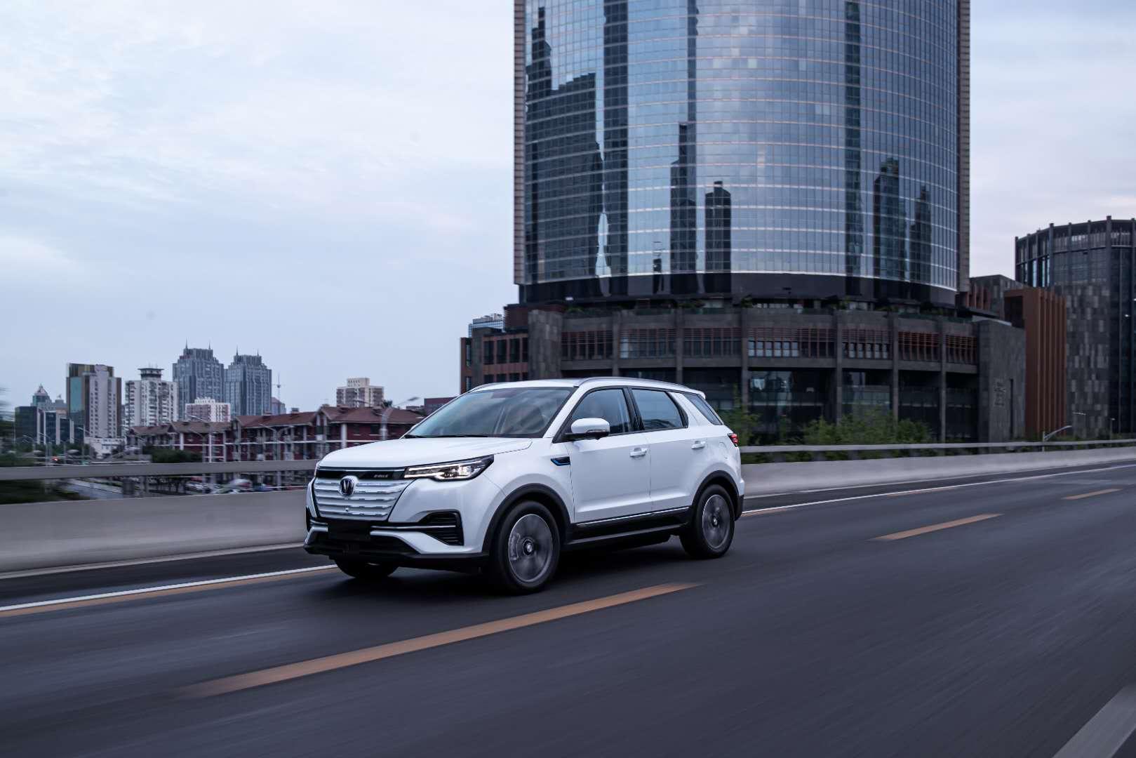 长安新能源奋力突围:CS55 纯电版出击15-20万元纯电紧凑SUV市场
