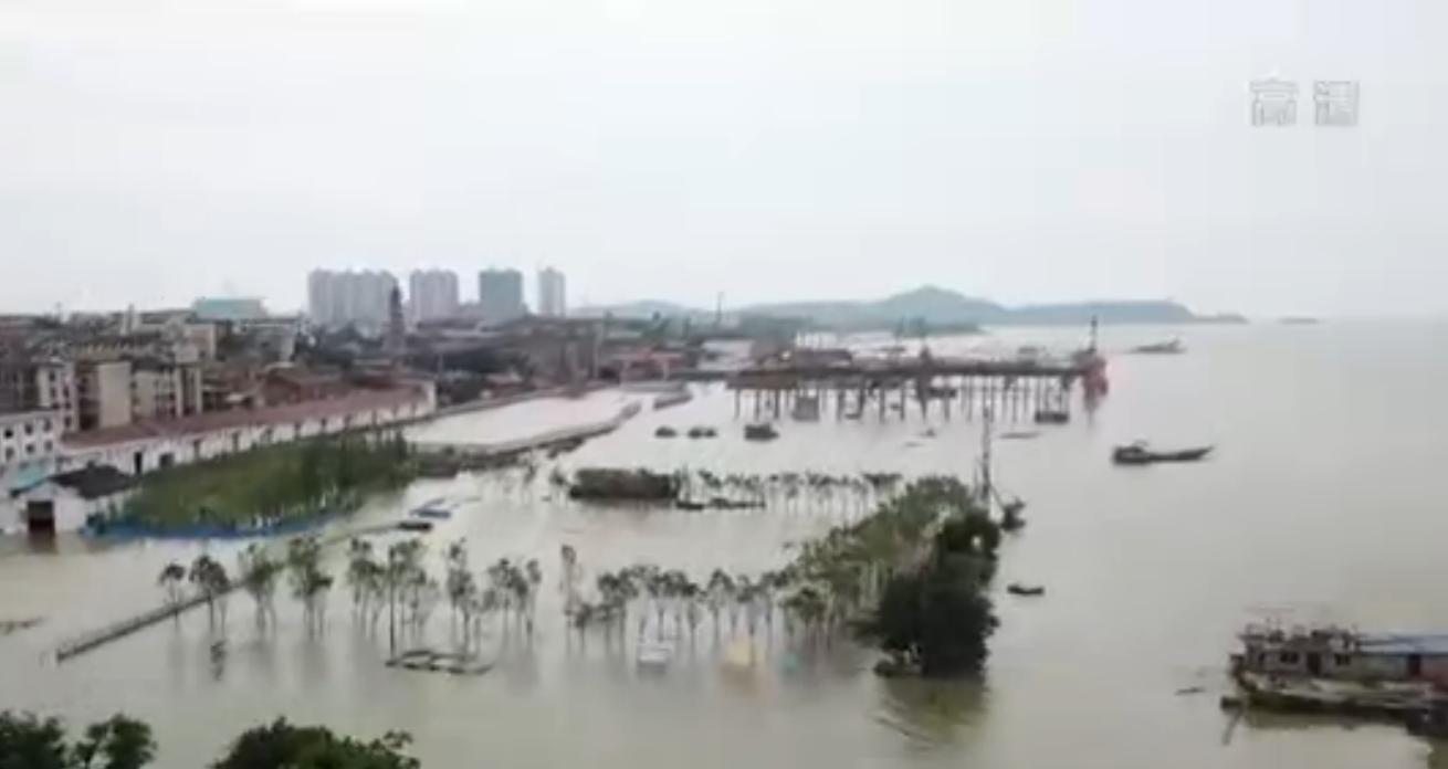 [杏悅]水文局發杏悅布長江干流多地洪水預警圖片