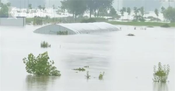 「杏悅」家杏悅壩開閘安徽沿淮多個行蓄洪圖片
