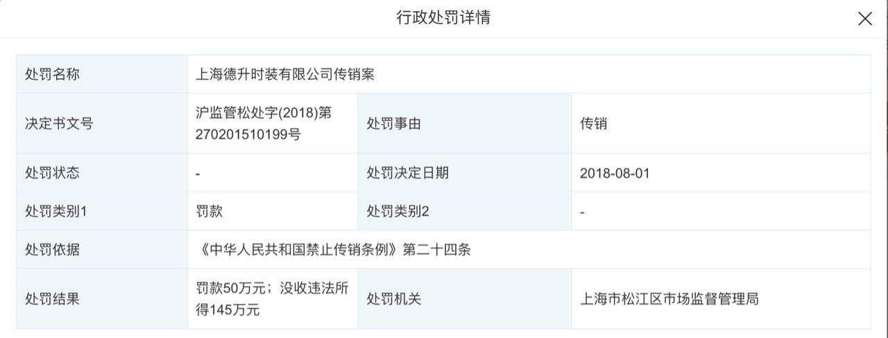 """▲姬剑晶参股的公司曾因""""传销""""受罚。"""