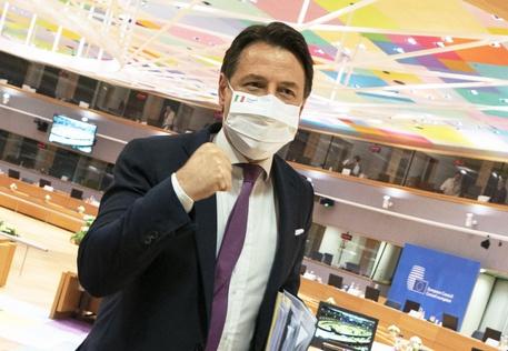 意大利总理孔特 图源:安莎通讯社