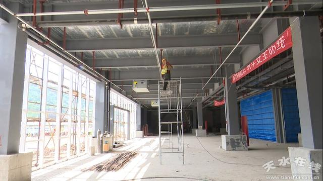天水秦州建材市场一期项目预计9月投运