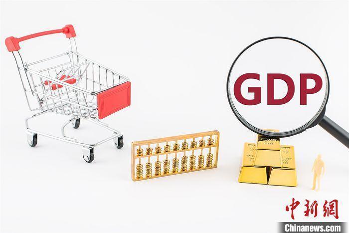 GDP创意图。
