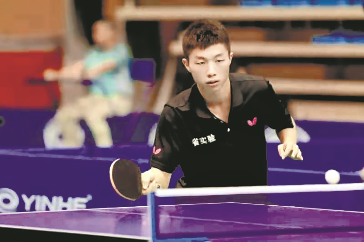 """二月调考400多分中考进步到588分 乒乓球小子""""打进""""武汉大学"""