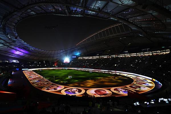 卡塔尔多哈举办2019世界田径锦标赛。人民视觉 资料图