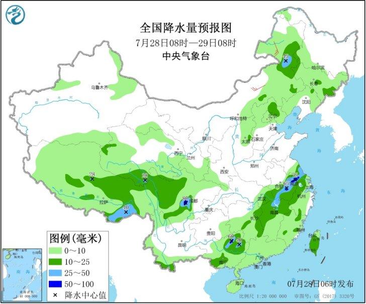 中央气象台:长江中下游将进入高温少雨模式