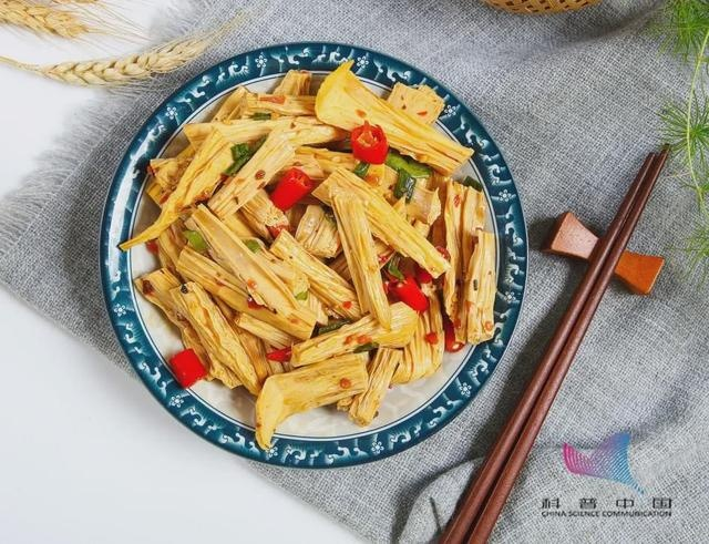常吃的腐竹、豆腐皮都在榜