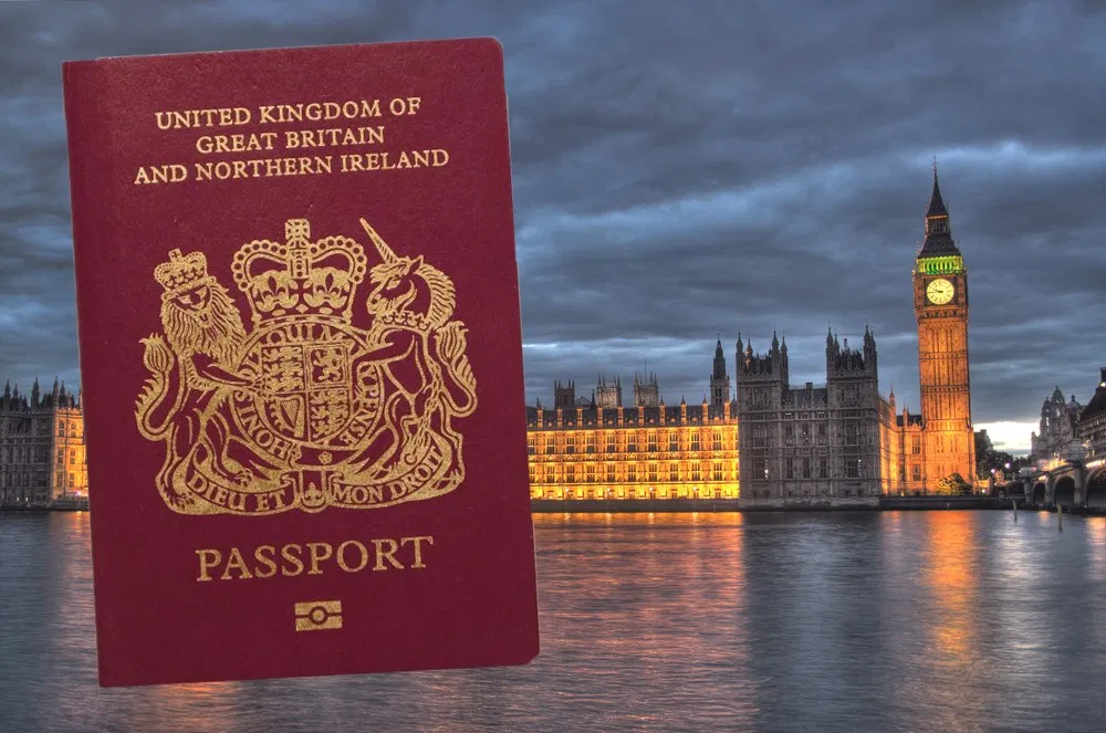 BNO護照資料圖