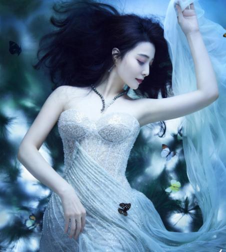 范冰冰拍婚纱写真,美如仙女却令人唏嘘,曾因和李晨分手深夜痛哭
