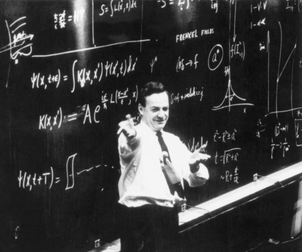 理查德·费曼:大学生最崇拜的科学家,爱因斯坦紧随其后