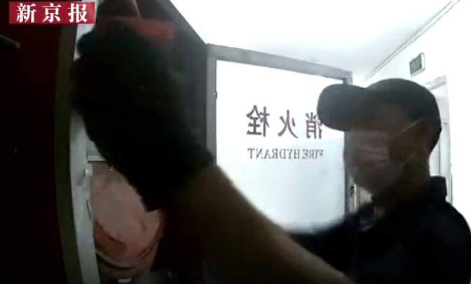 河北燕郊一小区近三千个消防栓报警器被盗 警方介入