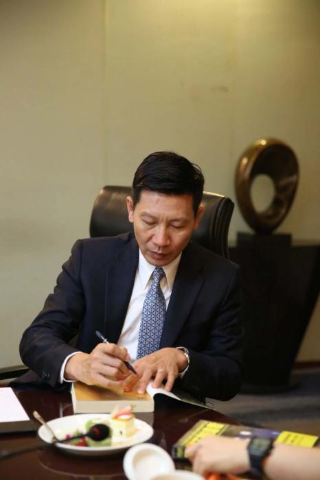 赛麟汽车董事长王晓麟。图片来自赛麟汽车公众号