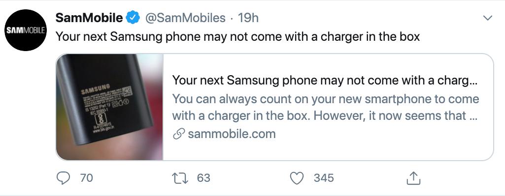 【前沿】三星也取消附带充电器?Note20Ultra真机上手视频