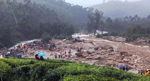 印度喀拉拉邦山体滑坡死者升至52人 当地水库水位告急