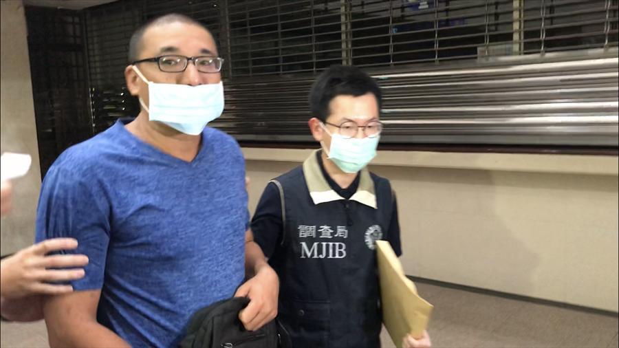 涉事台军军官李志交(左),图源:台媒