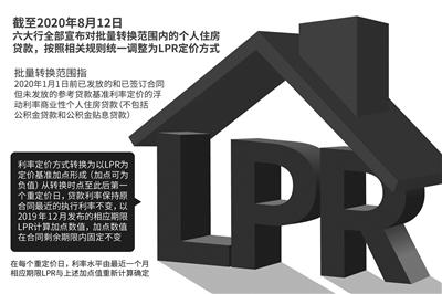 五大行公告:8月25日起对个人房贷统一转为LPR定价