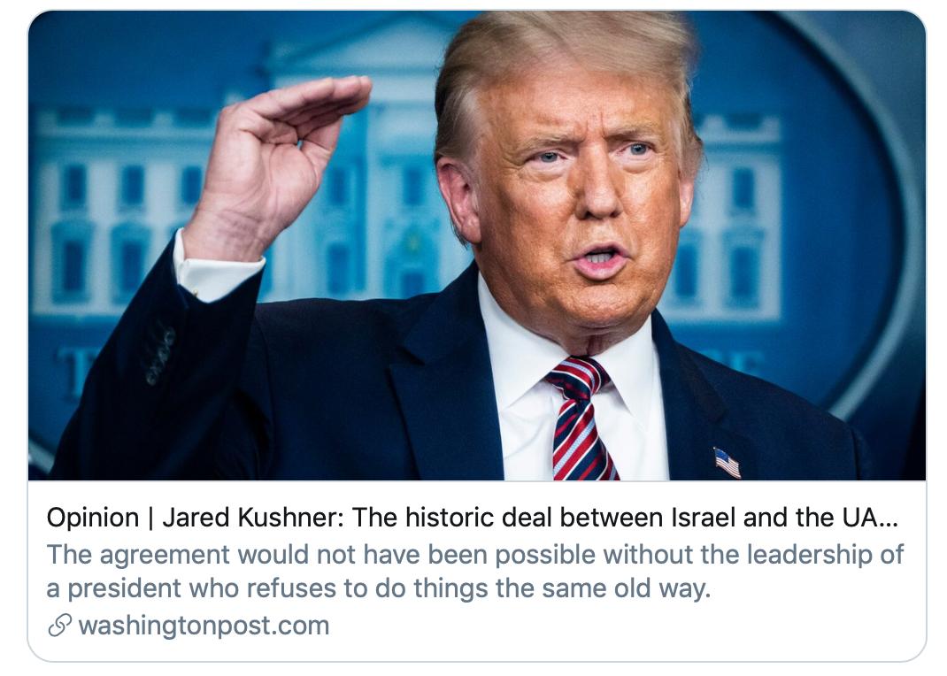《华盛顿邮报》报道截图。