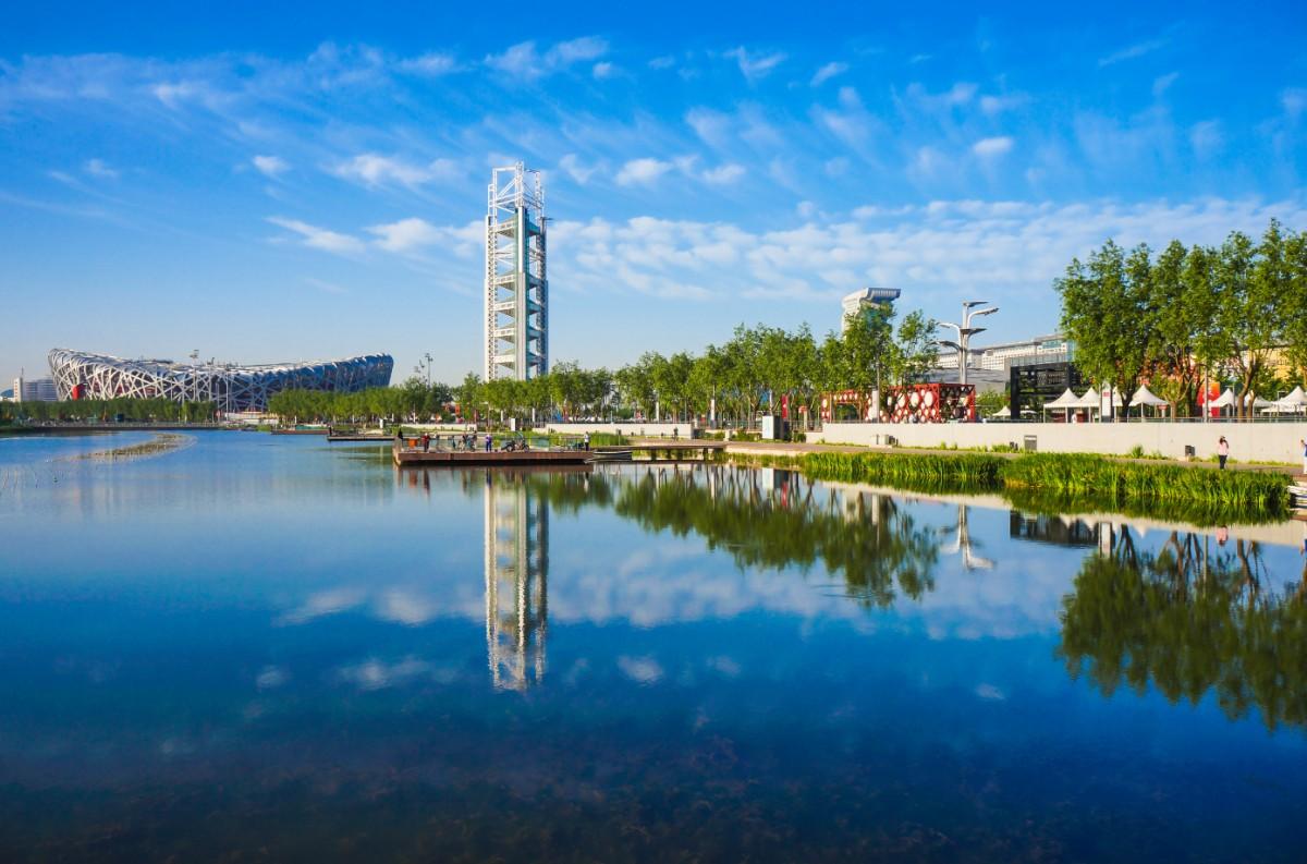 """北京自然水域面积 13年多了""""48个昆明湖"""""""