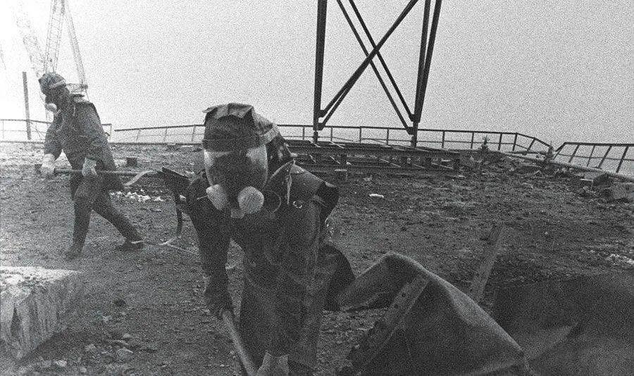 """34年过去了,切尔诺贝利地下100吨的""""大象腿""""仍然致命"""