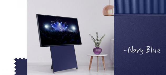 三星电视的设计艺术,海军蓝竟然如此多的意义