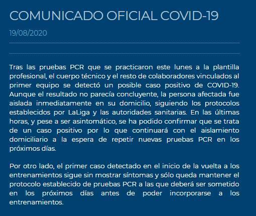 西班牙人俱乐部网站公告。