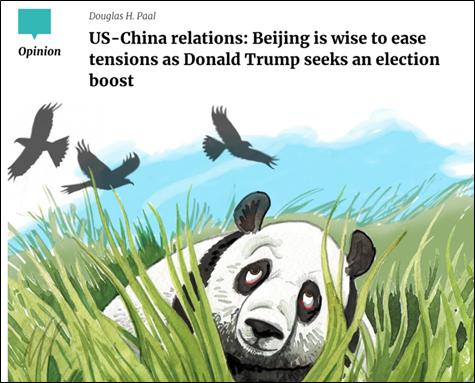 """""""美国在台协会""""前主席:中国很明智,没上特朗普当"""
