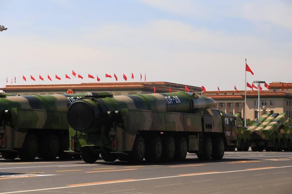美军回应中国试射4枚弹道导弹:已做好应对威胁准备
