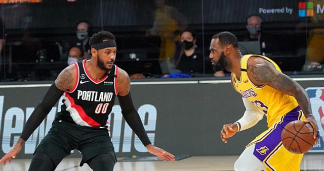 2019-20赛季NBA季后赛继续进行,湖人完胜开拓者,4-1淘汰西部第八