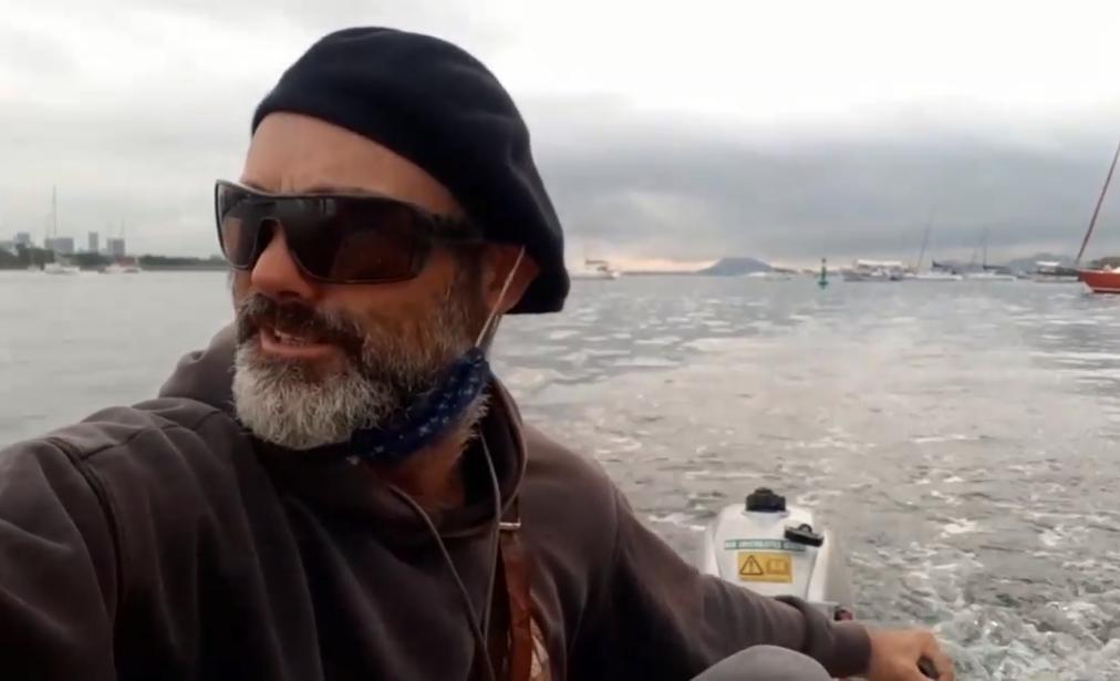 85天9000公里,为了与家人团聚,47岁大叔开帆船穿越了大西洋!