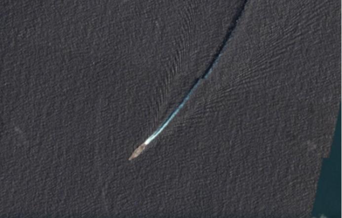 """敏感时刻 美军航母溜进东海被卫星""""活捉""""(图)插图"""